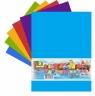 Karton Kraft A4 kolorowy dwustronny 9 arkuszy 200g/m2