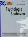 Psychologia społeczna 1/2015
