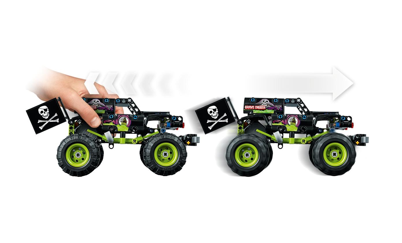Lego Technic: Monster Jam® Grave Digger® (42118)
