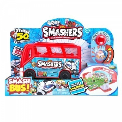 SMASHERS Autobus/ Boisko do piłki nożnej zestaw (SSM7408)