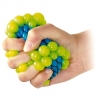 Gniotek w siatce - winogrono -  fioletowe