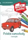 Kolorowanka. Polskie samochody
