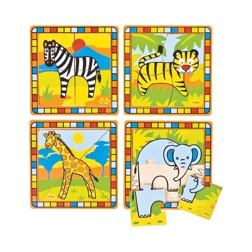 Moje Pierwsze Puzzle - Safari