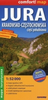 Jura Krakowsko-Częstochowska część południowa mapa turystyczna 1:52 000