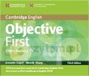 Objective First 3ed Class Audio CDs (2) Annette Capel, Wendy Sharp