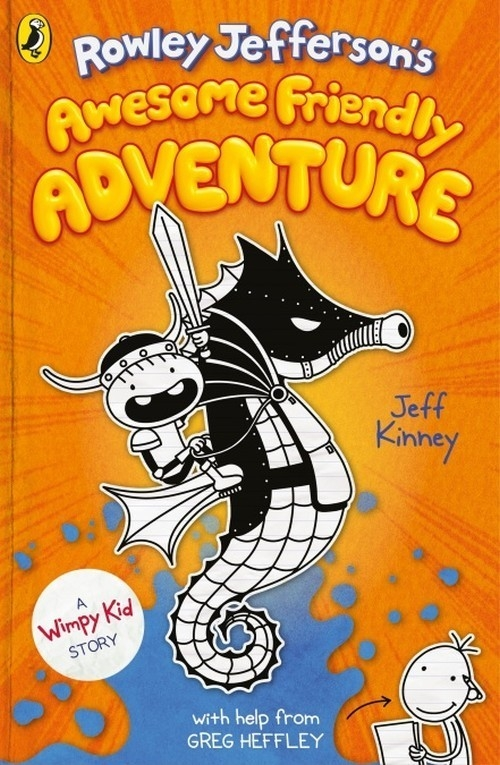 Rowley Jefferson's Awesome Friendly Adventure Kinney Jeff