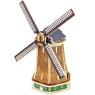 Puzzle drewniane 3D Holenderski wiatrak