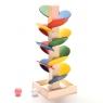 Drewniane edukacyjne drzewko klocki dla dzieci (KX9734)