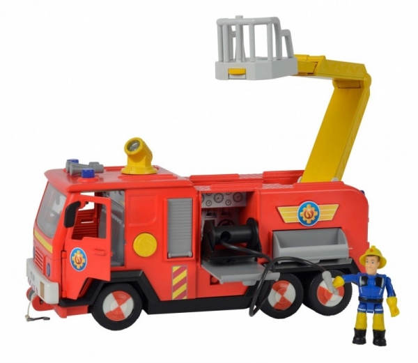 Wóz strażacki Strażak Sam Jupiter 2.0 z 2 figurkami (109251036)