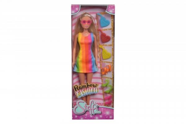 Lalka Steffi Tęczowa moda (105733331)