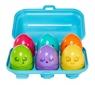 Jajeczka z dźwiękami (E73081)Wiek: 6 mies.+
