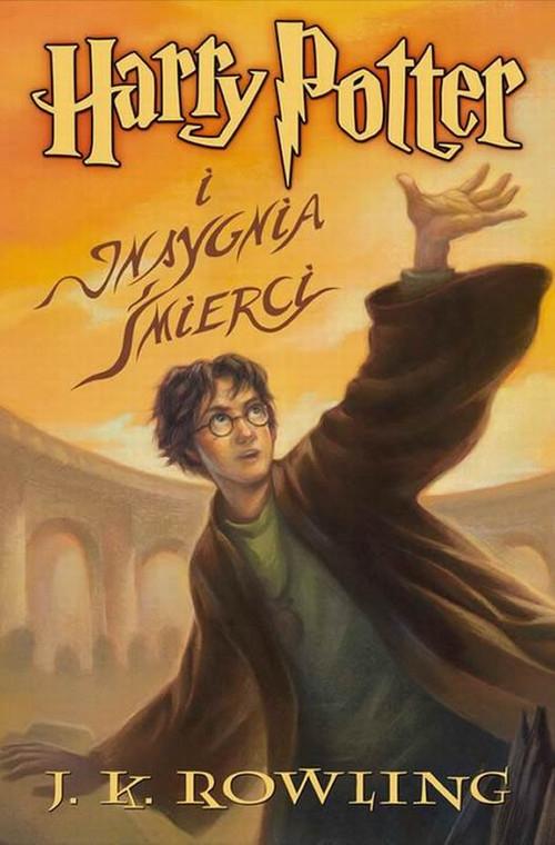 Harry Potter i Insygnia Śmierci. Tom 7 Rowling Joanne K.