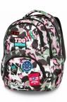 CoolPack - Dart - Plecak młodzieżowy - Camo Pink (Badges) (A29112)