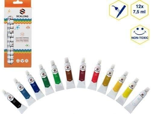 Farby Tempera 12 kolorów