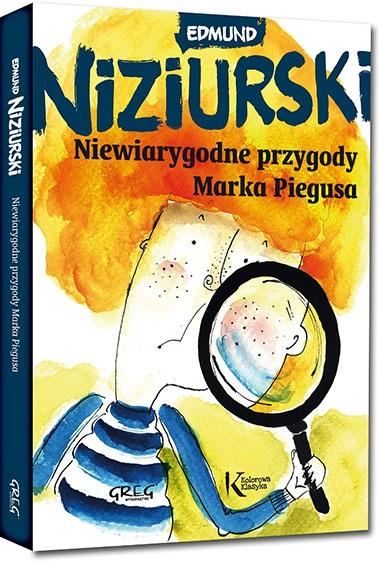 Niewiarygodne przygody Marka Piegusa (Uszkodzona okładka) Edmund Niziurski