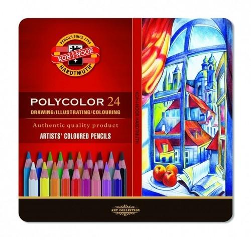 Kredki Polycolor 3824 24 kolory