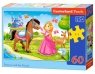 Puzzle Princess and Her Friend 60 elementów (06816)