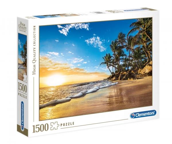 Puzzle HQC 1500: Tropical sunrise (31681)