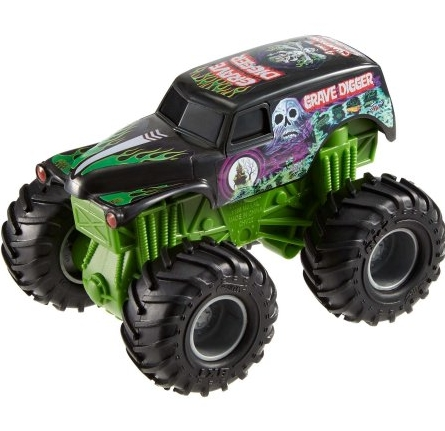 Monster Jam Rev Tredz pojazd Grave Digger (CHV22)