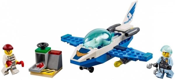 Lego City: Policyjny patrol powietrzny (60206)