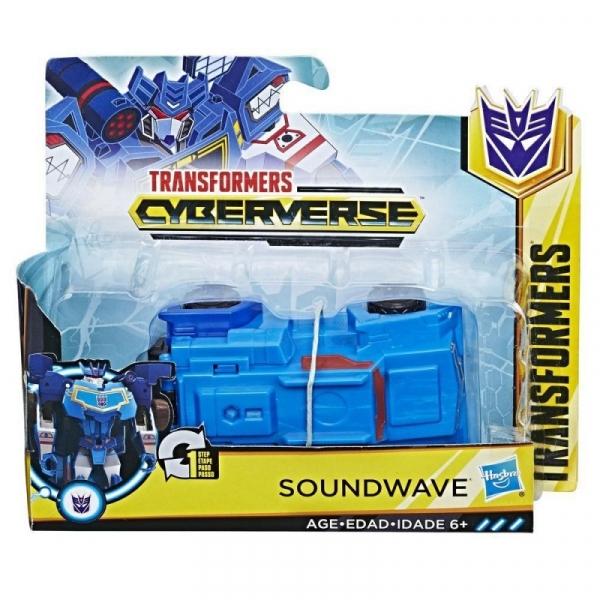 Figurka Transformers Cyberverse 1-krok - Soundwave (E3522/E3524)