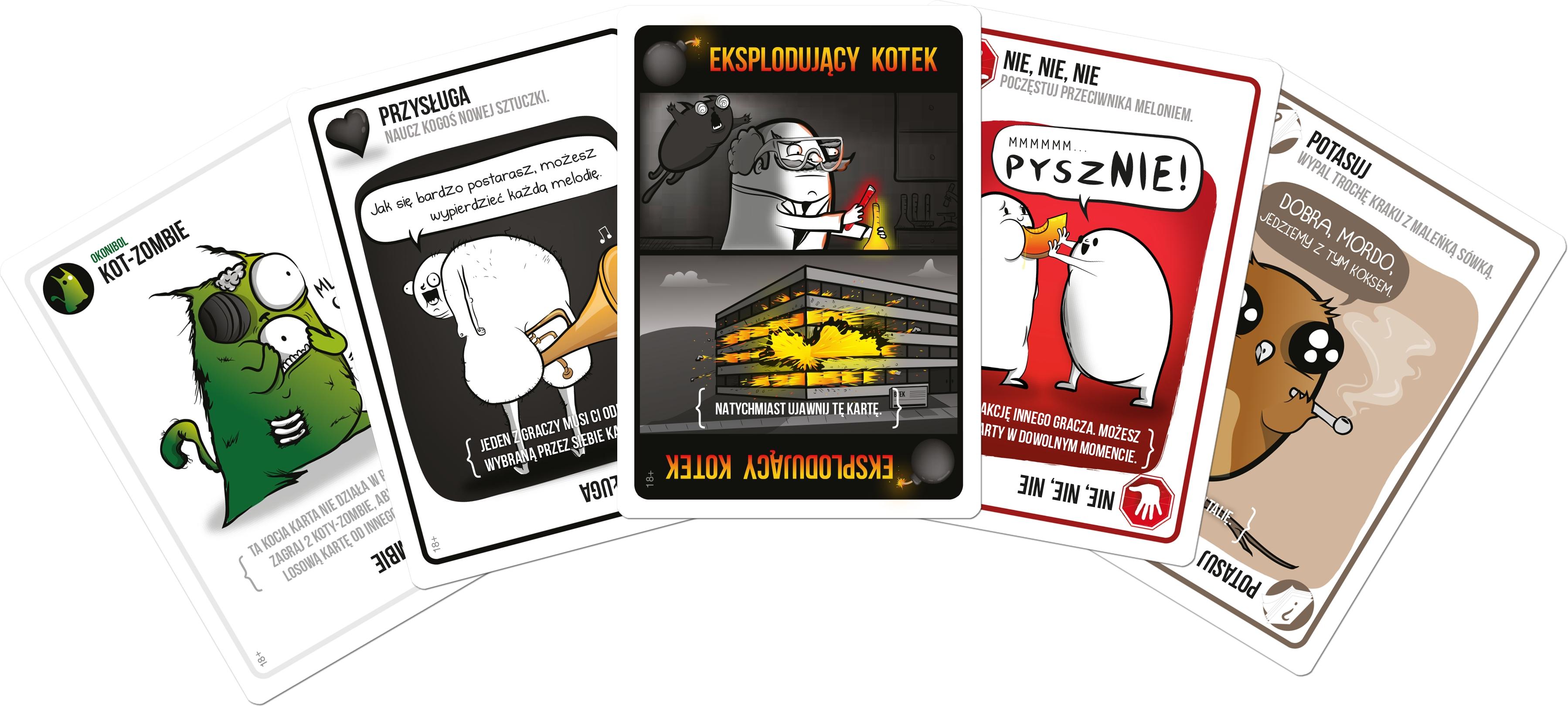 Eksplodujące Kotki: Edycja tylko dla dorosłych