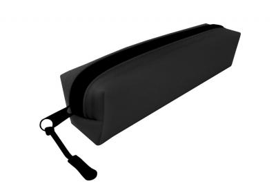 Piórnik silikonowy czarny NARCISSUS
