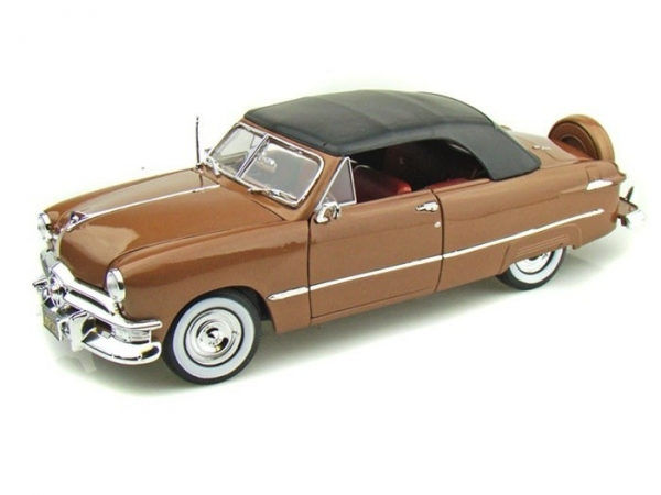 1950 Ford Convertible Top Up