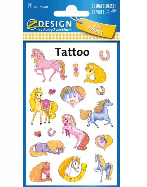 Tatuaże dla dzieci - koniki (56681)