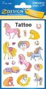 Tatuaże - Błyszczące kucyki (56681)