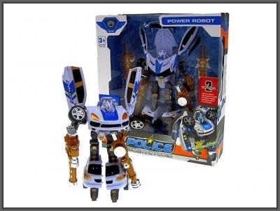 Robot Hipo Policja 25cm 2-rodzaje (H12305)