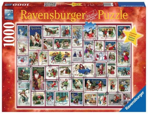 Puzzle 1000 elementów Kolaż Świąteczne życzenia (198818)