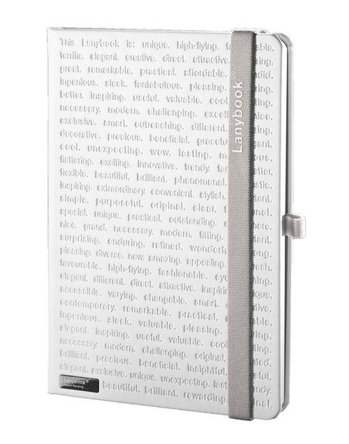 Notes A6 Lanybook The One White w linie z gumką
