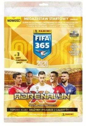 FIFA 365 Adrenalyn XL 2020 Megazestaw startowy