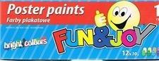 Farby plakatowe 12KOL.20 ML FJ-012