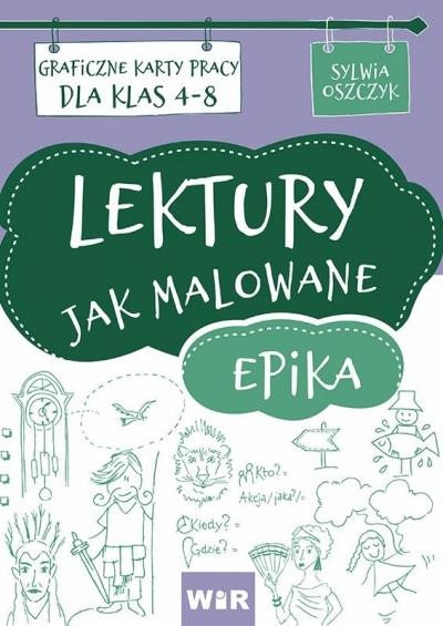 Lektury jak malowane - epika Sylwia Oszczyk