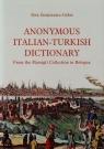 Anonymous Italian-Turkish dictionary
