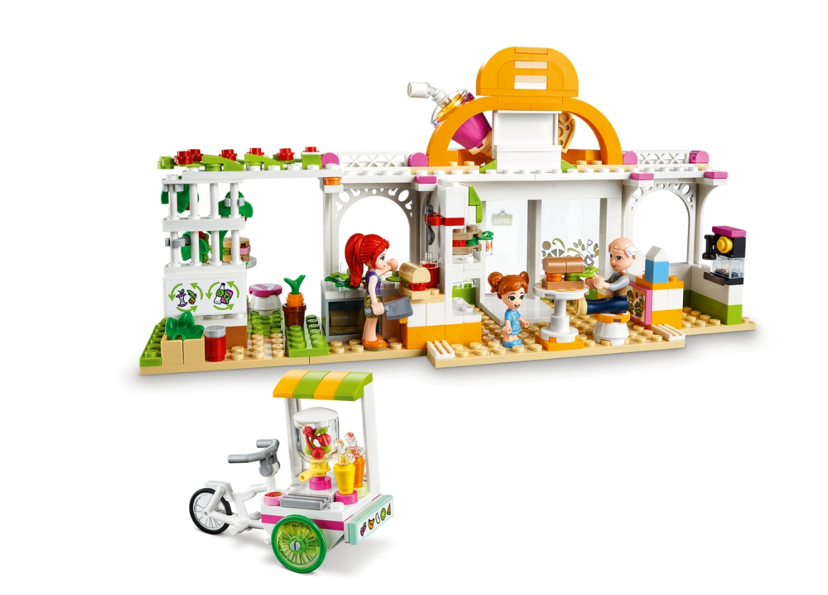 Lego Friends: Ekologiczna kawiarnia w Heartlake City (41444)