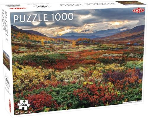 Puzzle Indian Summer in Norrbotten 1000 el