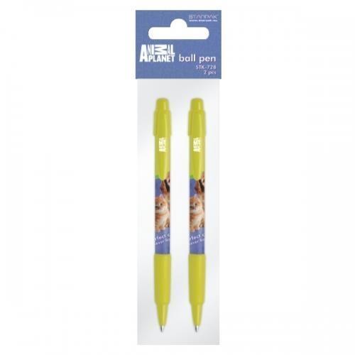 Długopis automatyczny Animal Planet Cute 2szt