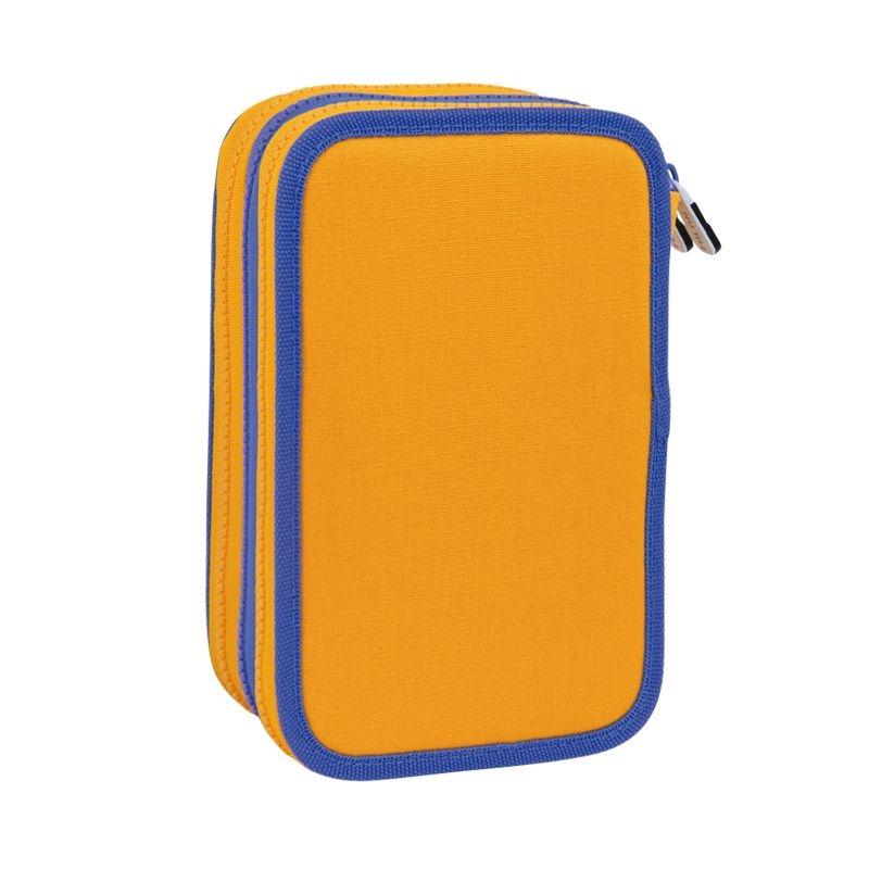 Milan, piórnik 3-poziomowy z wyposażeniem Be Wool - pomarańczowy (081364BW)