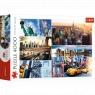 Puzzle 4000: Nowy Jork - kolaż (45006)