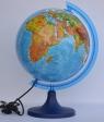 Globus fizyczny, podświetlany 250 mm