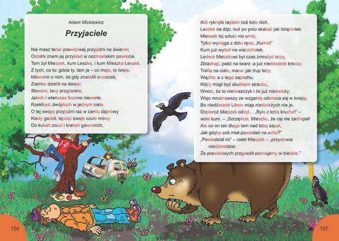 Elementarz - czytamy bajki metodą sylabową Alicja Karczmarska-Strzebońska
