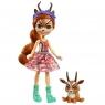 Enchantimals: Lalka Królewska Gabriela Gazelle i Zwierzątko Racer