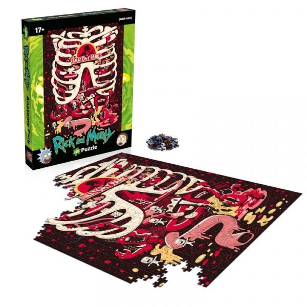 Puzzle Rick and Morty Anatomy Park 1000 elementów (WM01737-ML1-6)