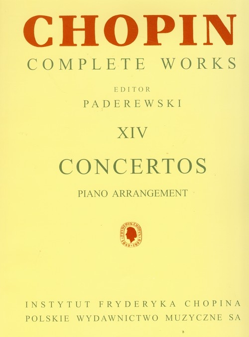 Chopin Complete Works XIV Koncerty