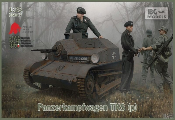 Model do sklejania Panzerkampfwagen TKS (35047)