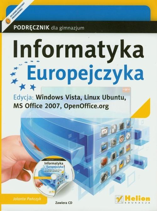 Informatyka Europejczyka Podręcznik Edycja Windows Vista Pańczyk Jolanta