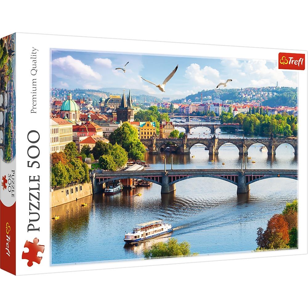 Puzzle 500: Praga, Czechy (37382)